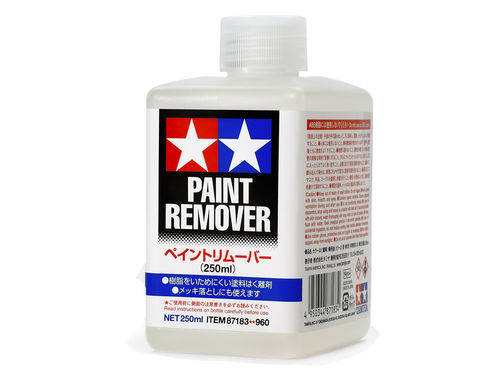 Tamiya Paint/Lacquer remover  (250ml)