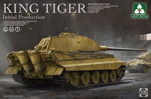 King Tiger initial production 4in1 1/35