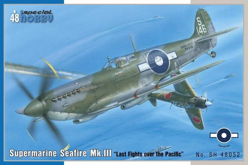 "Supermarine Seafire Mk. III ""Last Fights Over  1/48"