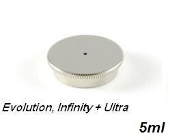 Deksel voor 5 ml cup Evolution,Infinity en Ultra
