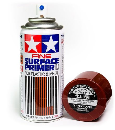 Tamiya Fine Surface Primer: Rust