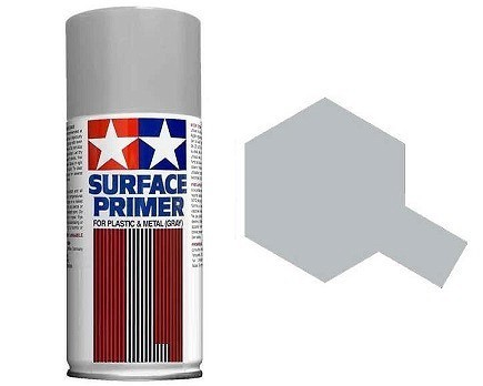 Tamiya Surface Primer: Grey