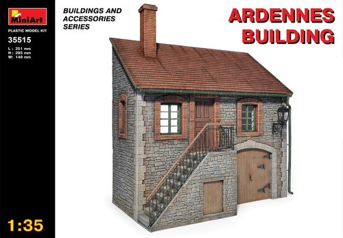 Ardennes Building 1/35
