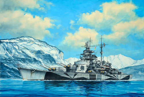 Tirpitz Model Set 1/1200