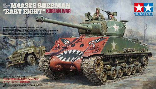 "M4A3E8 Sherman - ""Easy Eight"" Korean war 1/35"