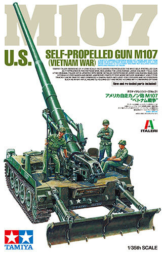 US Self-Propelled Gun M107 - Vietnam War 1/35