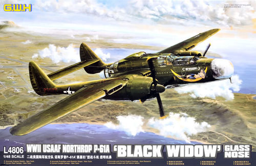 Northrop P-61A Black Widow Glass Nose  1/48