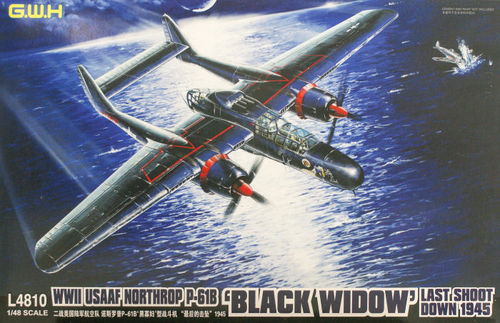 Northrop P-61B Black Widow Last Shoot Down  1/48