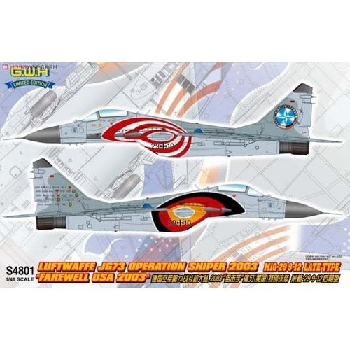 Luftwaffe JG.73 Operation Sniper 2003  1/48