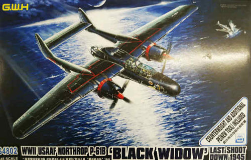 "Northrop P-61B Black Widow ""Last Shoot Down""  1/48"