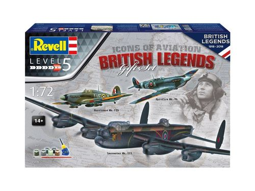 Gift Set - British Legends 1/72