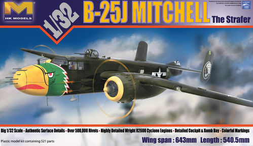 B-25J Mitchell The Strafer1/32
