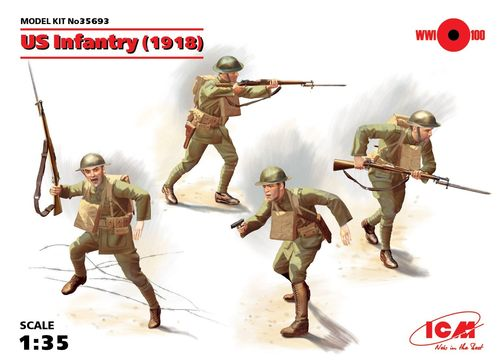 US Infantry 1918l, WWI 1/35