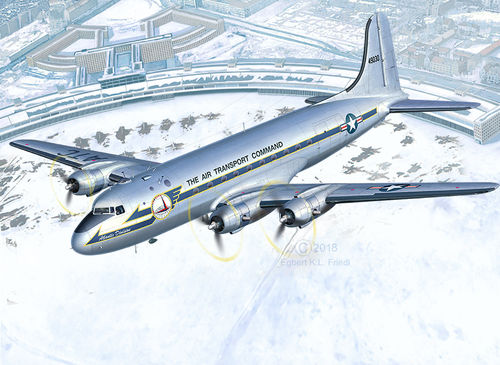 "C-54D Berlin Airlift ""70th Anniversary"" 1/72 Limited edtion"