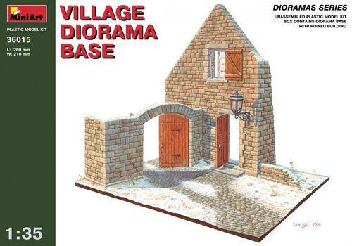 Village diorama base 1/35