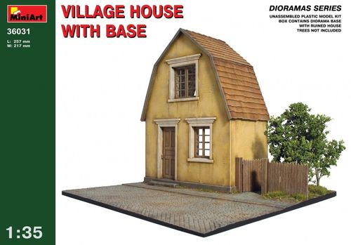Village House + Base 1/35