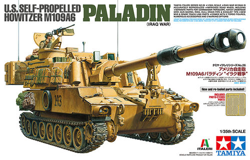 US Self-Propelled Howitzer - M109A6 Paladin (Iraq )1/35