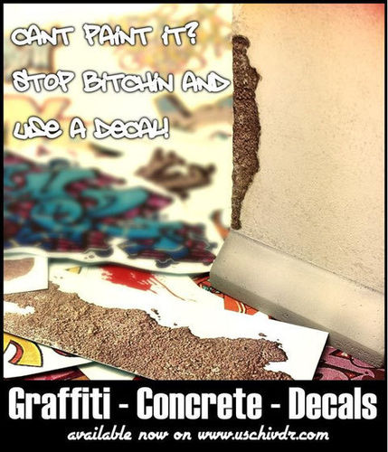 Instant Graffiti Decals #2