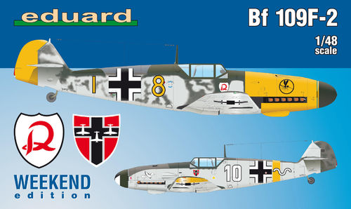 Bf 109F-2 Weekend Edition 1/48