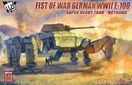 "Fist of War: E-100 Supper Heavy Tank ""Nothung"""