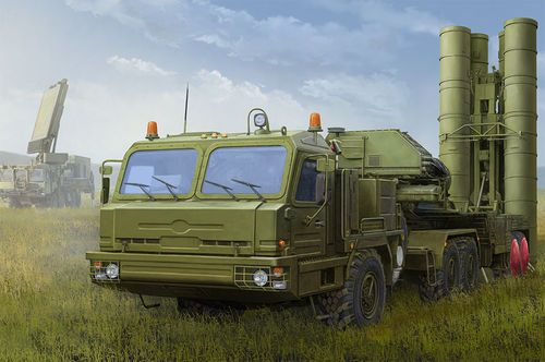 BAZ-64022 with 5P85TE2 TEL S-400  1/35