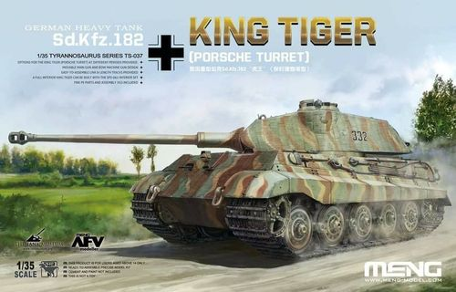 Sd.Kfz.182 King Tiger (Porsche Turret)1/35