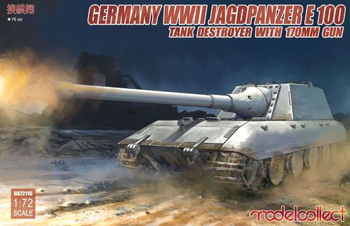 Jagdpanzer E-100 Tank destroyer with 170mm gun