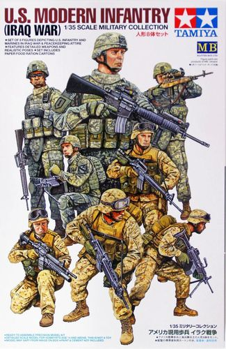 USA Modern Infantry (Iraq)  1/35