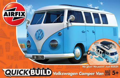 Quick Build: VW Camper Van Blue