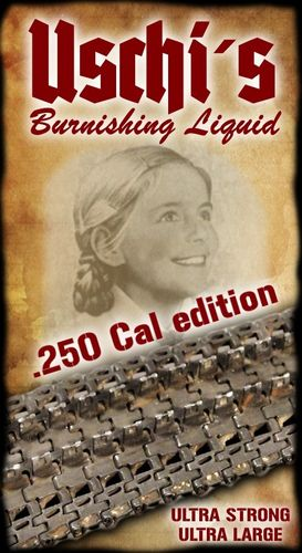 USCHI´s burnishing liquid .250cal edition