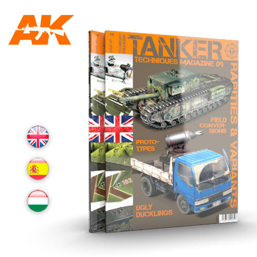 TANKER MAGAZINE 9 Rarities and Variants