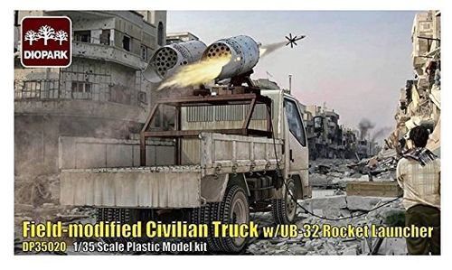 Field-Modified Civilian Truck w/UB32 Rocket Launcher 1/35