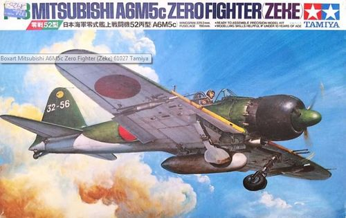 A6M5c Type 53 Zero Fighter (ZEKE) 1/72