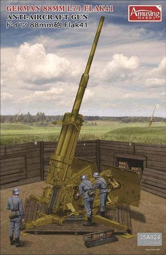 Anti-Aircraft Gun 88mm Flak41 (lim.edition**)