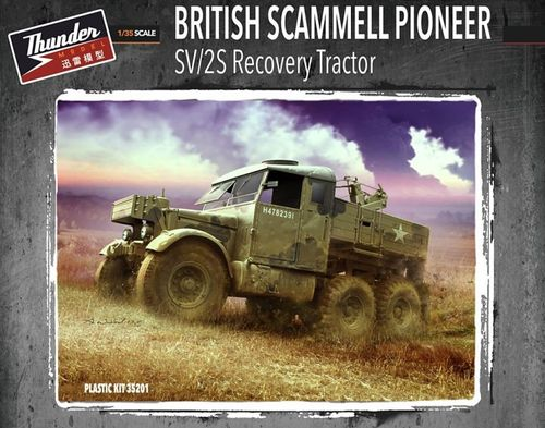 Scammel Pioneer  SV2S recovery  tractor 1/35