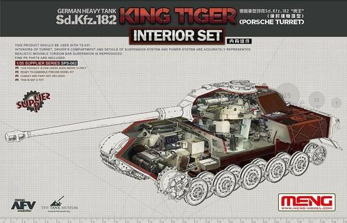 Sd.Kfz.182 King Tiger (Porsche Turret) interior set