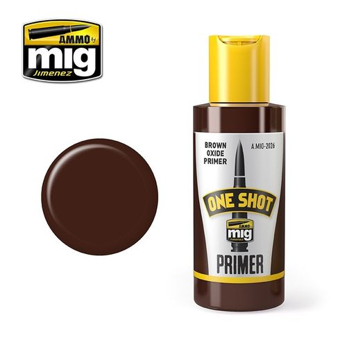 MIG One Shot Brown Oxide Primer (60ml)