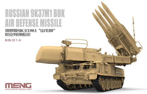 9K37 Buk air defense system 1/35