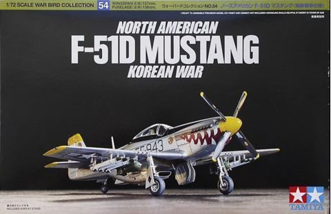 North American F-51D Mustang 1/72