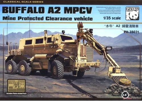 Buffalo A2 MPCV Mine Protected Clearance vehicle 1/35
