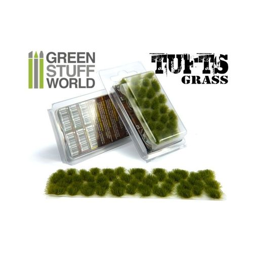 Tufts Grass Dry Green  6mm self-adhesive