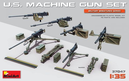 U.S. Machine Gun Set 1/35