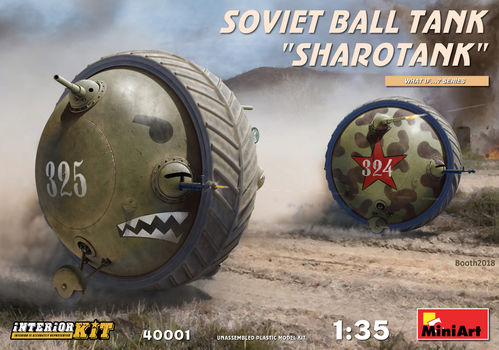 "Soviet Ball Tank ""Sharotank"" (interior kit)"