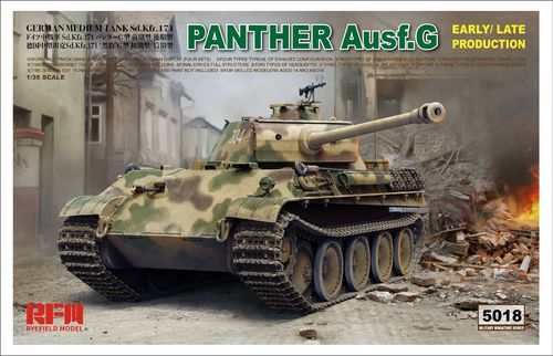 Panther Ausf.G Early/ Late 1/35