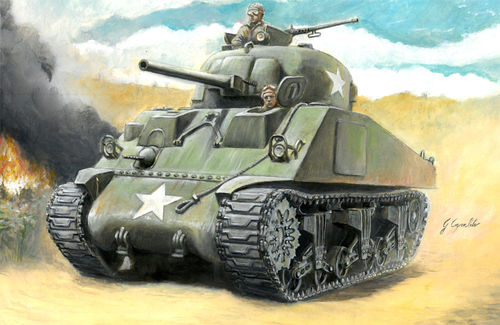 M4 Sherman 75mm