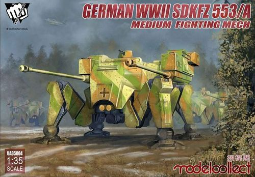 Fist of War: sdkfz 553/A medium fighting Mech 1/35