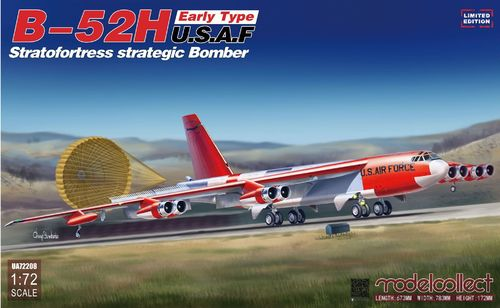 B-52H early type Stratofortress strategic Bomber limit edition 1/72