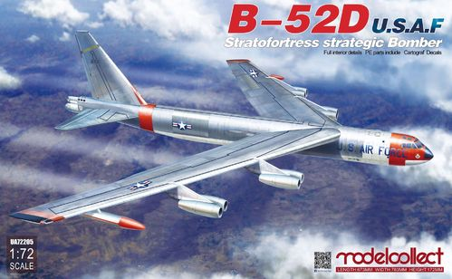 B-52D U.S.A.F Stratofortress strategic Bomber 1/72