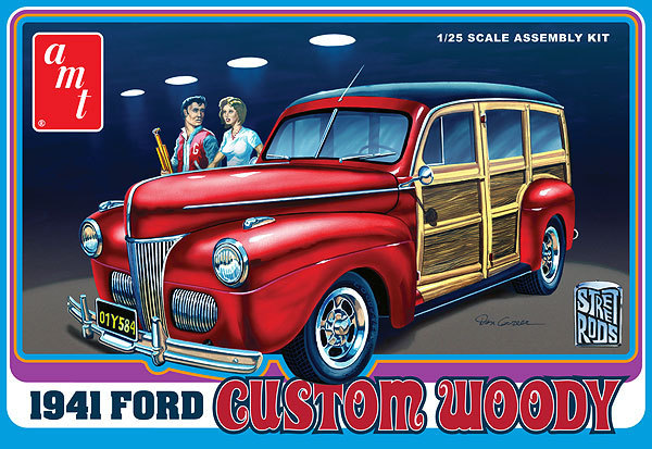 1941 Ford Custom Woody 1/25