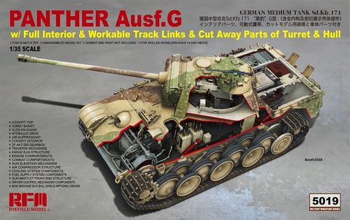 Panther Ausf. full interior (option Cut-a-way body)
